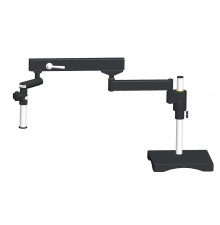 Articulating arm boom stand(with square base and focusing connector)