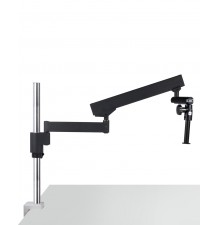 Articulating arm boom stand(table clamp version)
